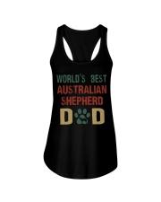 World's Best Australian Shepherd Dad Ladies Flowy Tank thumbnail