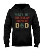 World's Best Australian Shepherd Dad Hooded Sweatshirt thumbnail
