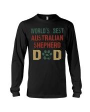 World's Best Australian Shepherd Dad Long Sleeve Tee thumbnail