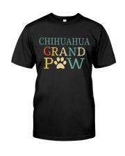 Chihuahua Grandpaw Classic T-Shirt front