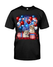 Shih Tzu  Independence Vr2 Classic T-Shirt front