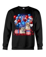 Shih Tzu  Independence Vr2 Crewneck Sweatshirt thumbnail