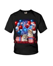 Shih Tzu  Independence Vr2 Youth T-Shirt thumbnail