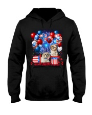 Shih Tzu  Independence Vr2 Hooded Sweatshirt thumbnail