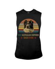 Best Australian Shepherd Dad Ever Sleeveless Tee thumbnail