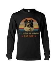 Best Australian Shepherd Dad Ever Long Sleeve Tee thumbnail