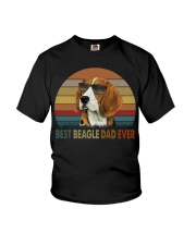 Best Beagle Dad Ever Youth T-Shirt thumbnail