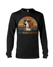 Best Beagle Dad Ever Long Sleeve Tee thumbnail