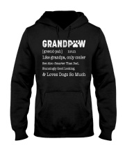 Grandpaw grand-pah Hooded Sweatshirt thumbnail
