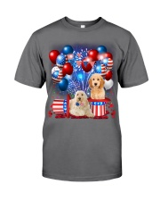 Goldendoodle  Independence Vr2 Premium Fit Mens Tee thumbnail