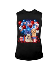 Goldendoodle  Independence Vr2 Sleeveless Tee thumbnail