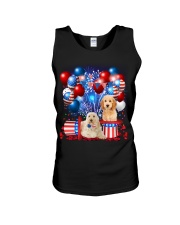 Goldendoodle  Independence Vr2 Unisex Tank thumbnail