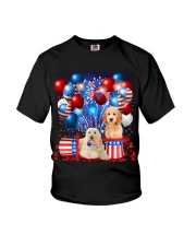 Goldendoodle  Independence Vr2 Youth T-Shirt thumbnail