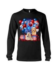 Goldendoodle  Independence Vr2 Long Sleeve Tee thumbnail