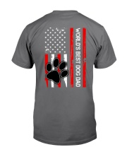 World's Best Dog Dad Flag Paw Dog Premium Fit Mens Tee thumbnail