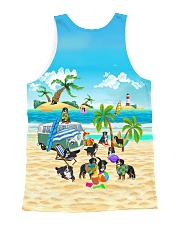 Bernese Mountain Dog Cute  All-over Unisex Tank back