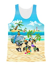 Bernese Mountain Dog Cute  All-over Unisex Tank front