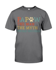 Papaw The Man The Myth The Bad Influence Premium Fit Mens Tee thumbnail