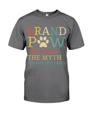 Grand Paw The Man The Myth The Bad Influence Premium Fit Mens Tee thumbnail