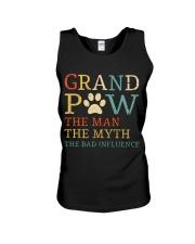 Grand Paw The Man The Myth The Bad Influence Unisex Tank thumbnail