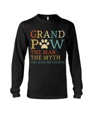 Grand Paw The Man The Myth The Bad Influence Long Sleeve Tee thumbnail