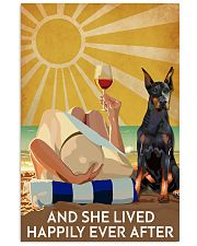 Doberman Pins And She Lived Happily Ever After 11x17 Poster front