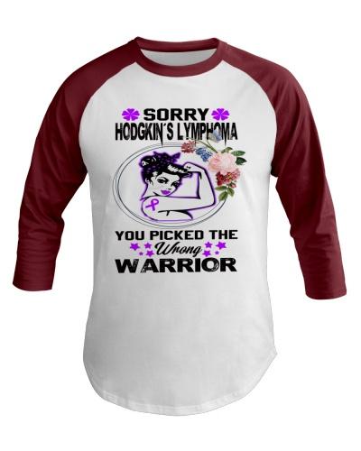 Hodgkin's Lymhoma Warrior Shirt