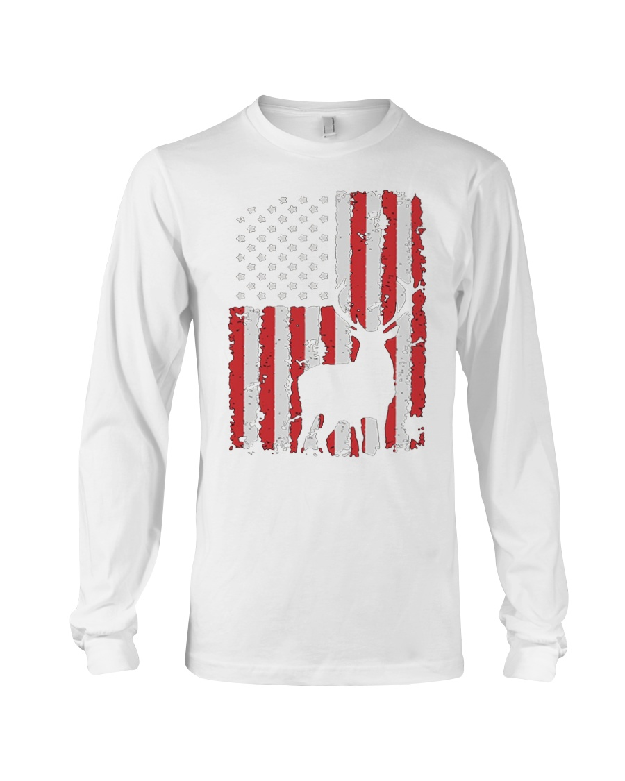 Hunting Shirts - Hunting Flag Shirt Long Sleeve Tee
