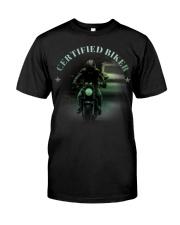 Biker T-shirt Classic T-Shirt front