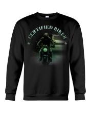 Biker T-shirt Crewneck Sweatshirt thumbnail