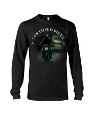 Biker T-shirt Long Sleeve Tee thumbnail