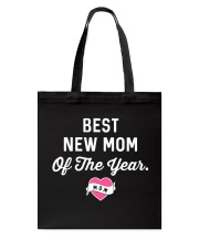 Best New Mom Tote Bag thumbnail