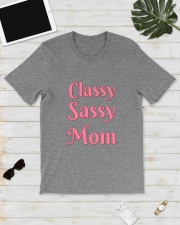 Classy Sassy Mom Classic T-Shirt lifestyle-mens-crewneck-front-17