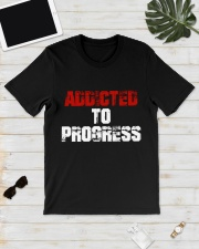 Addicted To Progress T-shirt Premium Fit Mens Tee lifestyle-mens-crewneck-front-17