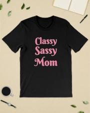 Sassy Classy Mom Classic T-Shirt lifestyle-mens-crewneck-front-19