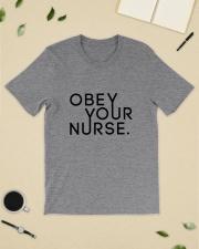 Obey Your Nurse Classic T-Shirt lifestyle-mens-crewneck-front-19