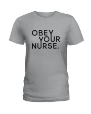 Obey Your Nurse Ladies T-Shirt thumbnail