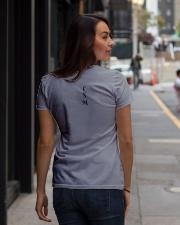 Classy Sassy Mom Ladies T-Shirt lifestyle-women-crewneck-back-1
