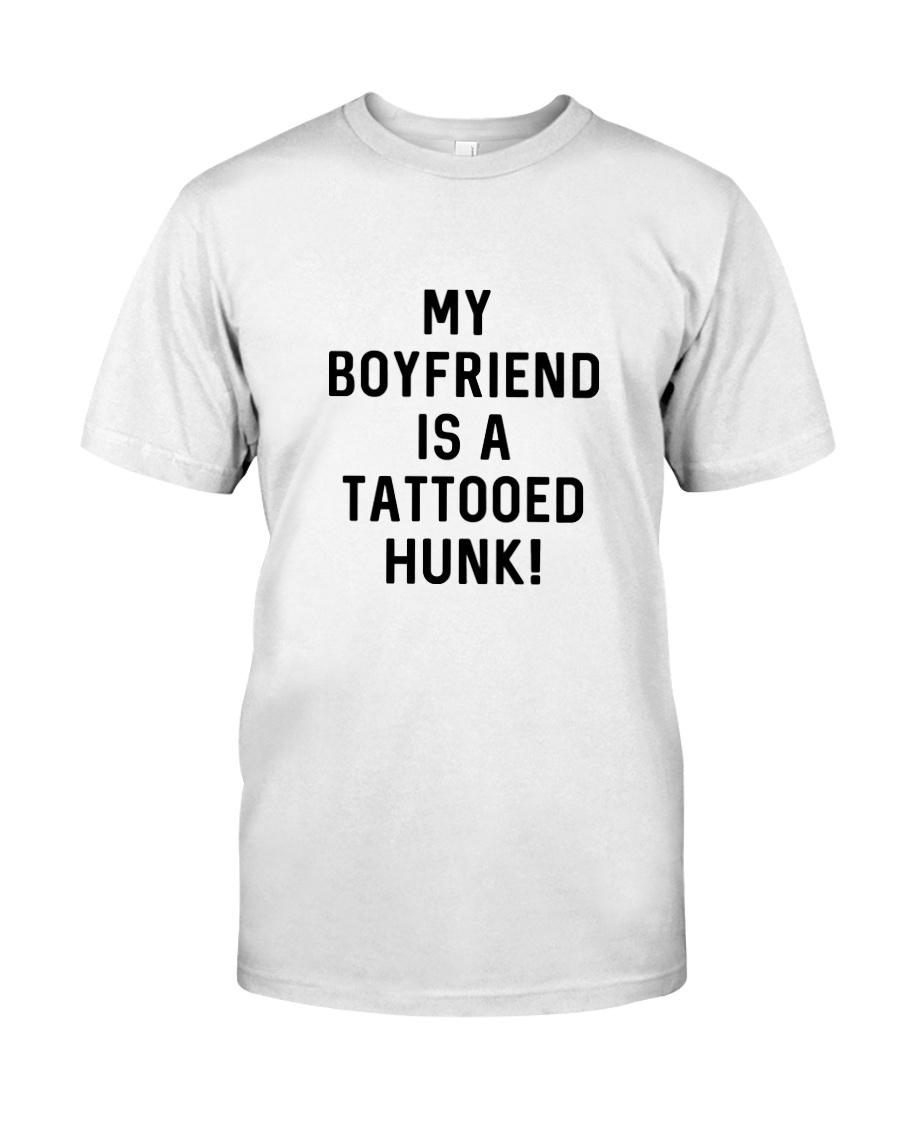 Tattooed Hunk T-shirt Classic T-Shirt