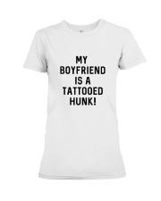 Tattooed Hunk T-shirt Premium Fit Ladies Tee front