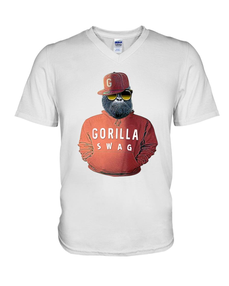 Gorilla Swag  V-Neck T-Shirt