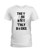 They are not only books Ladies T-Shirt thumbnail