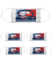 AUTHORITAH Cloth Face Mask - 5 Pack thumbnail