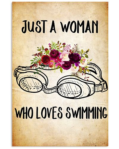 SWIMMING - JUST A WOMAN POSTER