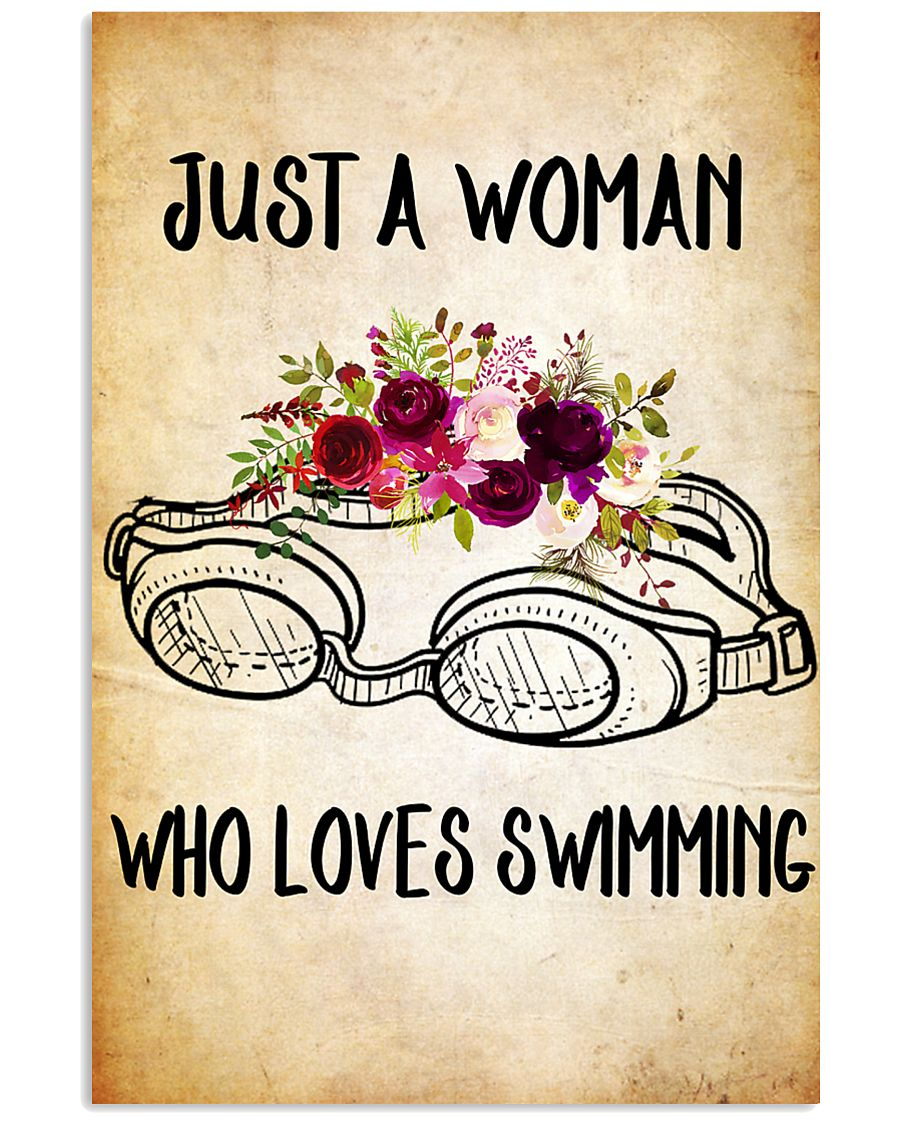 SWIMMING - JUST A WOMAN POSTER 11x17 Poster