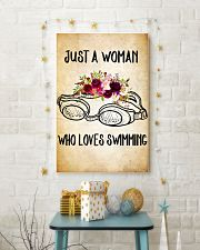 SWIMMING - JUST A WOMAN POSTER 11x17 Poster lifestyle-holiday-poster-3