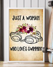 SWIMMING - JUST A WOMAN POSTER 11x17 Poster lifestyle-poster-4