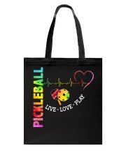 PICKLEBALL LIVE LOVE PLAY Tote Bag thumbnail