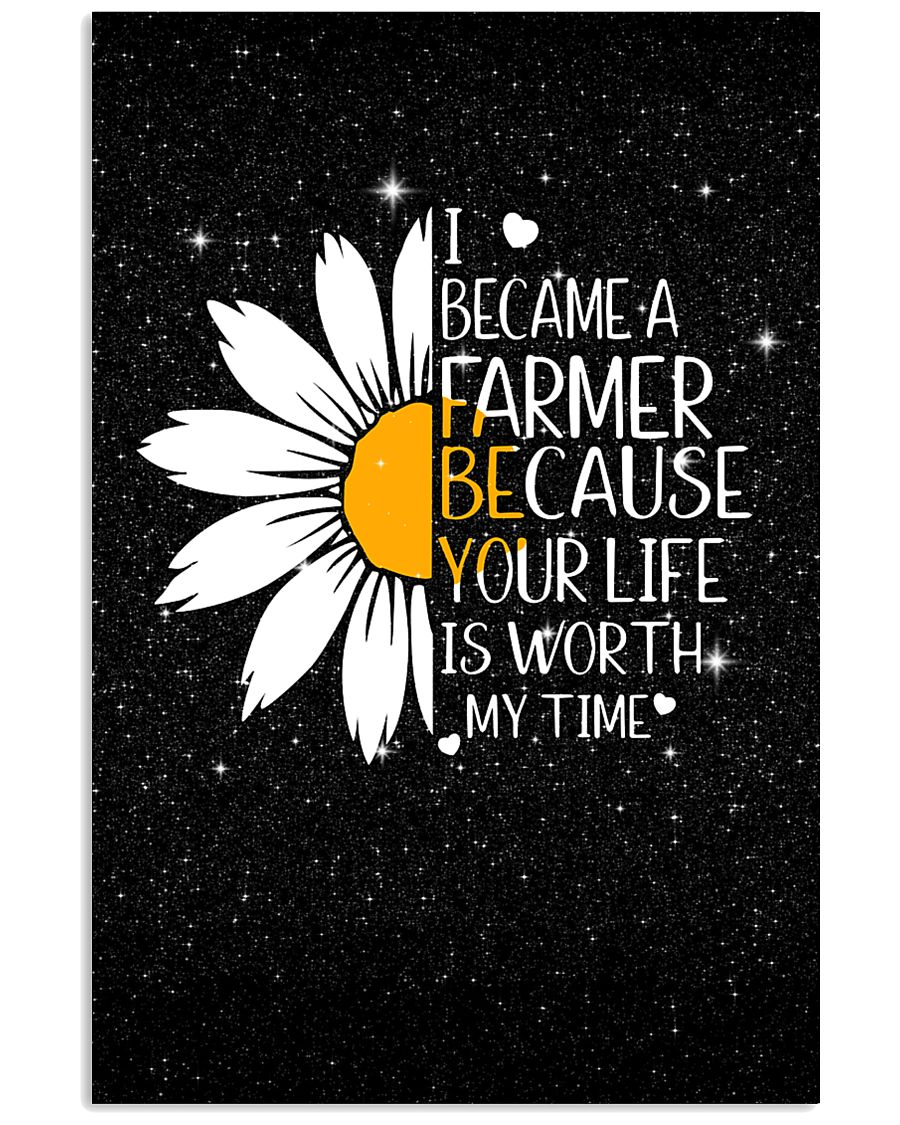 FARMER - I BECAME A POSTER 11x17 Poster