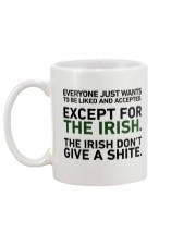 IRISH- EVERYONE JUST WANTS Mug back